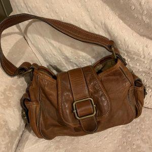 Banana Republic Soft Leather Hobo Purse bag small fb5e469e0572f